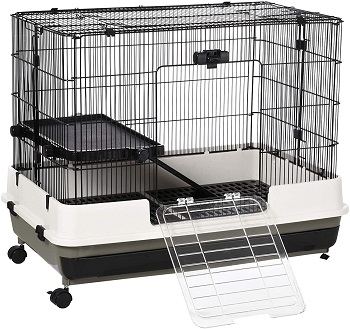 Pawhut Black Hamster Cage Review