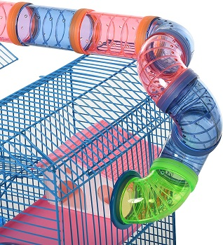 Pawhut Hamster Crazy Fun Cage Review
