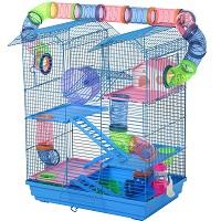 Pawhut Hamster Crazy Fun Cage Summary