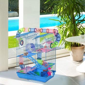 Pawhut Hamster Crazy Fun Cage
