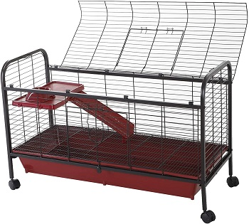 Pawhut Metal Cage With Wheels Review