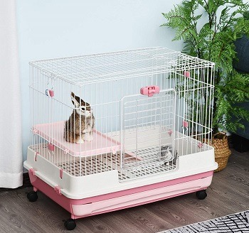 Pawhut Metal Wire Cage