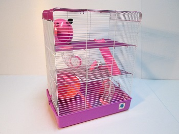 Penthouse Pink Cage For Hamsters Review