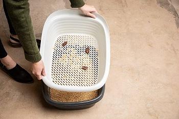 Pet Mate Arm Sifting Litter Pan