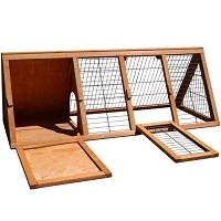 Ruuhooi Outdoor Wooden Cage Summary