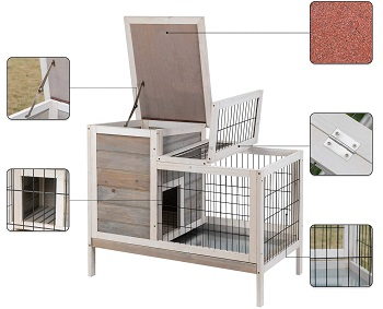 Scurrty Large Syrian Hutch For Hamsters