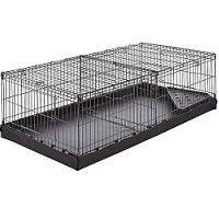 Small Pet Habitat Cage With Canvas Bottom Summary