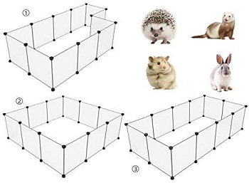 Tespo Playpen Indoor Small Animal Cage Review