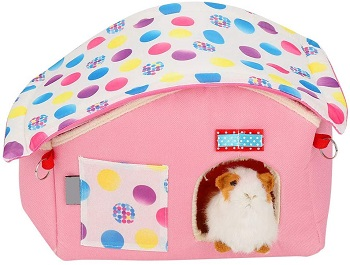 Tmishion Soft Pink Hamster House Review