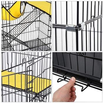 Yaheetech Large Cages For Syrian Hamsters