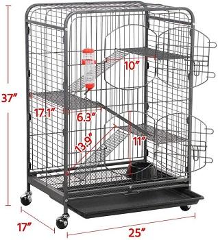 Yaheetech Sturdy Hamster Enclosure