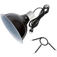 Zilla Black Reflector Dome Lamp Summary