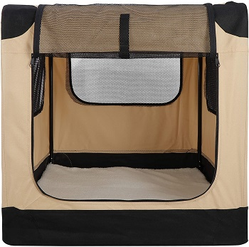 42Inch Dog Crate Folding Soft Kennel Review (2)