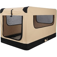 42Inch Dog Crate Folding Soft Kennel Summary (2)