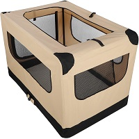 42Inch Dog Crate Folding Soft Summary