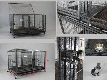 43-in Stackable Heavy Duty Cage