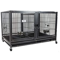 43-in Stackable Heavy Duty Cage Summary