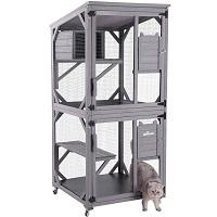 Aivituvin Weatherproof Cat Tower Summary