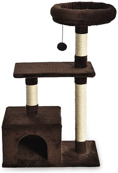 AmazonBasics Cat Tree Wide Base Review