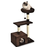 AmazonBasics Cat Tree Wide Base Summary