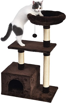 AmazonBasics Cat Tree Wide Base