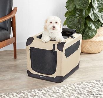 AmazonBasics Dog Travel Crate