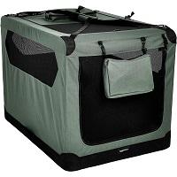 AmazonBasics Folding Dog Crate Summary