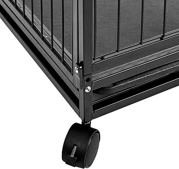 AmazonBasics Heavy Duty Stackable Pet Kennel Review