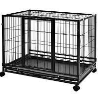 AmazonBasics Heavy Duty Stackable Pet Kennel Summary
