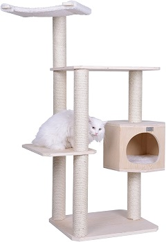 Armarkat Solid Wood Cat Tree Review