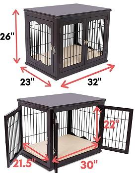 BIRDROCK HOME Decorative Dog Crate Review