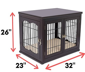 BIRDROCK HOME Decorative Dog Crate Review
