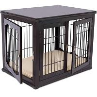 BIRDROCK HOME Decorative Dog Crate SUmmary