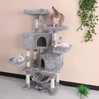 Bewishome Multi-Level Tree For Cats