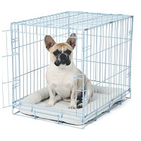 Carlson Blue Metal Dog Crate Summary