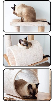 Catry Cat Tree Real Wood Review