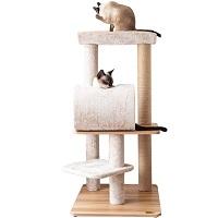 Catry Cat Tree Real Wood Summary