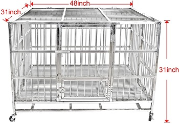 Confote Heavy Duty Dog Cage Review