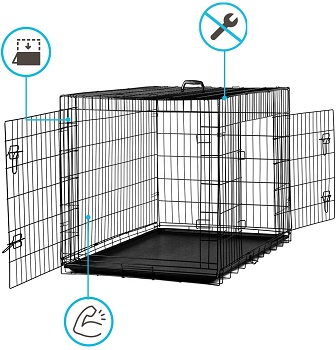 Dog Crate 36 Pet Cage Review