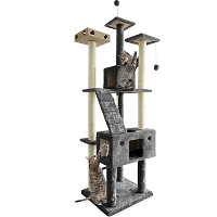 FurHaven Pet Furniture Tree For Cats Summary