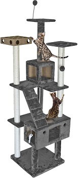 FurHaven Pet Furniture Tree For Cats