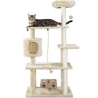 Furhaven White Tiger XXL Cat Tree Summary