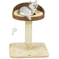 Go Pet Club Rattan Wicker Cat Tree Summary