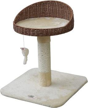 Go Pet Club Rattan Wicker Cat Tree