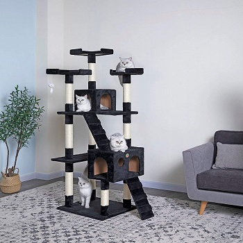 Go Pet Club Tall Tree For Cats