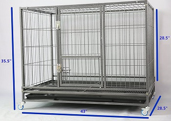 Homey Pet 43-in Stackable Heavy Duty Cage Review