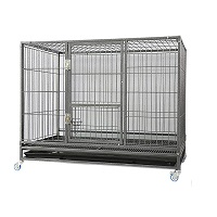 Homey Pet 43-in Stackable Heavy Duty Cage Summary