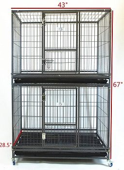 Homey Pet 43 inch Stackable Cage Review