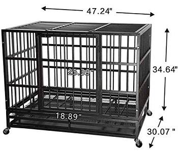 ITORI Heavy Duty Metal Dog Crate Review