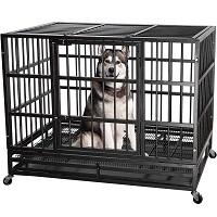 ITORI Heavy Duty Metal Dog Crate Summary